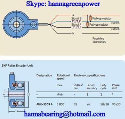 AHE-5509A Roller Encoder Bearing 6x32x19mm