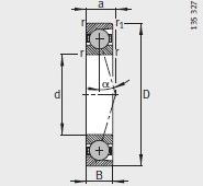 HCB71922-C-T-P4S bearing 110X150X20mm