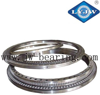 634*366*148mm three-row roller slewing bearing for truck crane