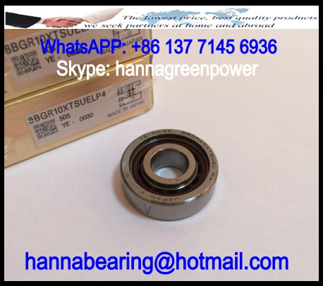 17BGR19XTDUELP4 Angular Contact Ball Bearing 17x30x14mm