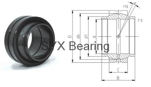 spherical plain bearing GEEM35ES-2RS