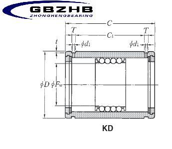 KD122332LL bearing