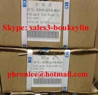 6205/22YA-RS1 Deep Groove Ball Bearing 22x52x15mm