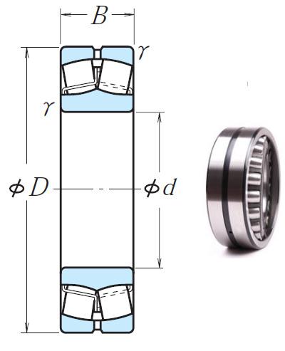 23938CAE4 Spherical Roller Bearings 190*260*52mm