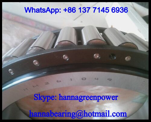 HM261049 Tapered Roller Bearing 333.375*469.9*90.488mm