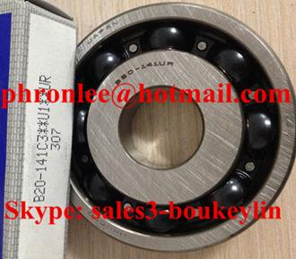 B20-160UR Deep Groove Ball Bearing 20x52x12mm