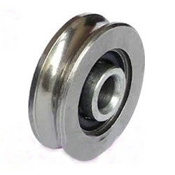 LFR50/5-4-2Z Track rollers with profiled outer ring 5×16×8mm