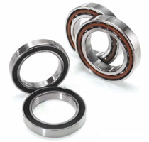 45TAC100B bearing 45x100x20mm