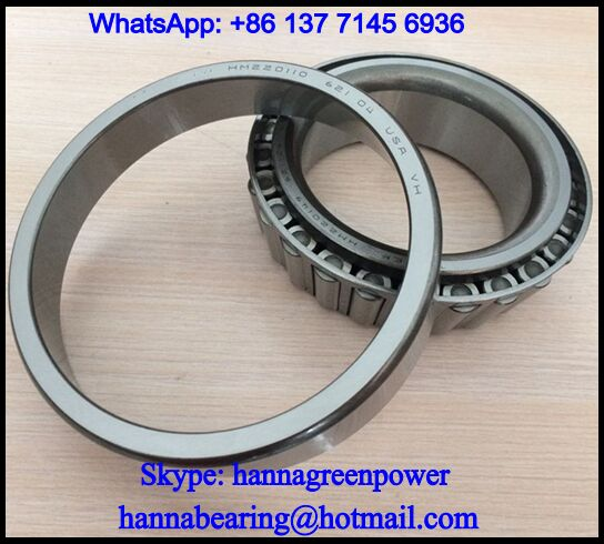 BT1-0810C Truck Wheel Hub Bearing / Tapered Roller Bearing 95x170x45.5mm