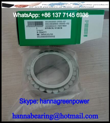 F554377 Double Row Cylindrical Roller Bearing 38x54.28x29.5mm