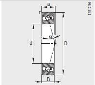FAG HSS7012-C-T-P4S Bearings