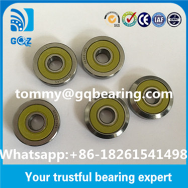 RE901-2RS RE901.2RS Track Rollers with one beveling profile Journal Bearing