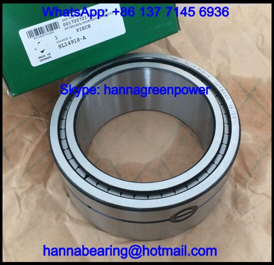 3NCF5924V Three Row Cylindrical Roller Bearing 120x165x66mm