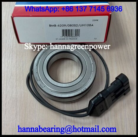 BMB-6209/080S2/UB008A Speed Sensor Bearing 45x85x25.2mm