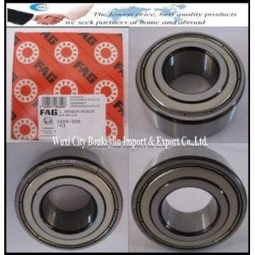 3206-2ZR Double-Row Angular Contact Ball Bearing