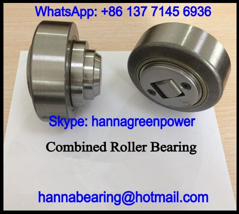 4.054.2RS / 4.054-2RS Combined Roller Bearing 30x62.5x37.5mm