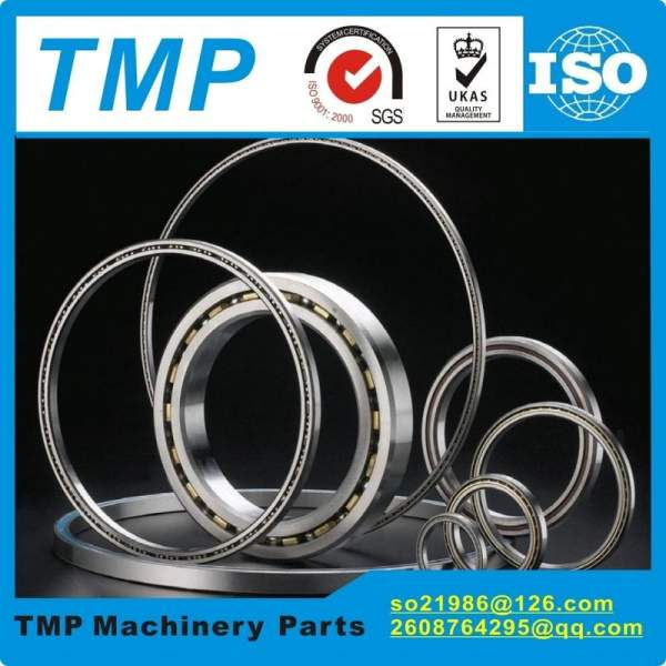 KA065XP0 Reail-silm Thin section bearings (6.5x7x0.25 inch) Four-point contact bearing