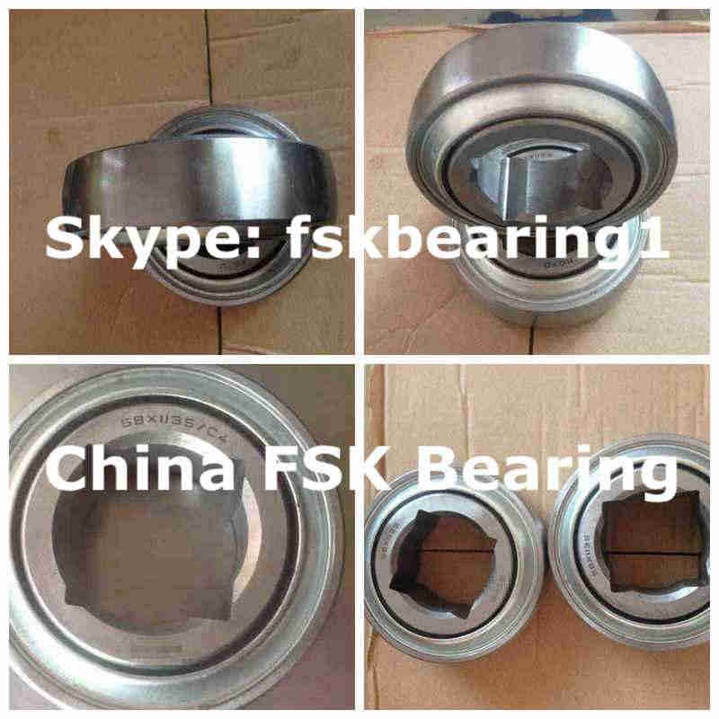 W208PPB2 AgriculturalInsertBearing SquareBore 38.113x80x42.86mm