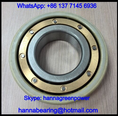 6316-2RSR-J20A-C3 Insocoat Bearing / Insulated Ball Bearing 80x170x39mm