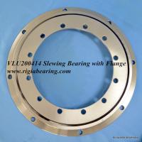VLU200544 flange slewing bearing in stainless steel 304