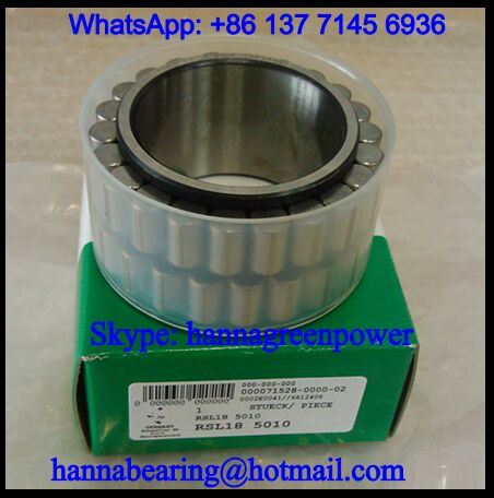 RSL185015 Cylindrical Roller Bearing for Gear Reducer 75x107.9x54mm