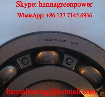 B37-10UR Automotive Deep Groove Ball Bearing 37x88x18mm
