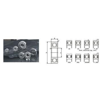 6200 6200ZZ 6200-2RS Bearings 10x30x9mm