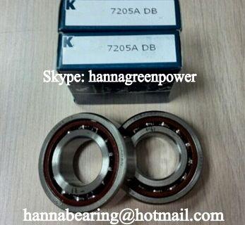 7205CTYNDTLP4 Angular Contact Ball Bearing 25x52x30mm