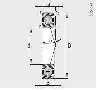 FAG HCB71900-C-T-P4S Bearing