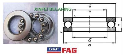 SKF 51209 THRUST BEARING 51209 45x73x20 mm