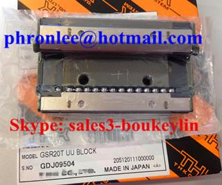 GSR20T1UU Linear Guideway Block 24x43x74mm
