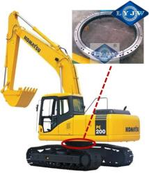 komatsu PC60-6(Z=80) excavator slewing bearing 627*852*75mm