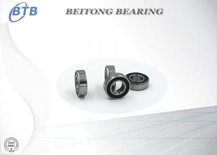 Double Shield Deep Groove Ball Bearing , Metric SS Bicycle Ball Bearings 688-2RS