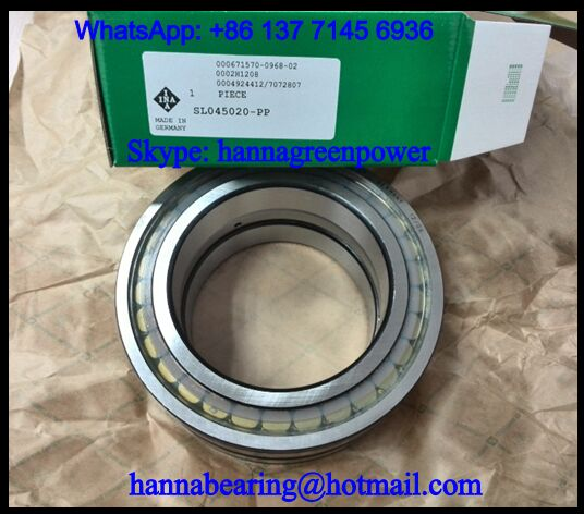 SL045015PP-2NR Cylindrical Roller Bearing 75x115x54mm