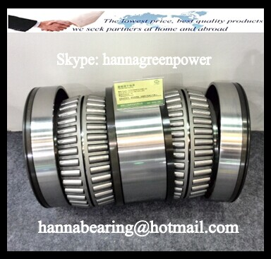 LM538630T-90014 Inch Four Row Taper Roller Bearing 190.5x260.35x169.164mm