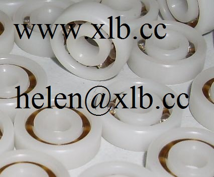 16008 plastic deep groove ball bearing
