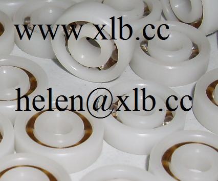 6207 plastic deep groove ball bearing
