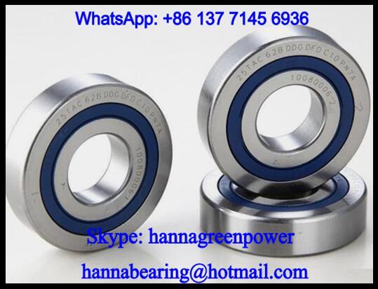 25TAC62BDDGDTDC10PN7A Ball Screw Support Ball Bearing 25x62x45mm