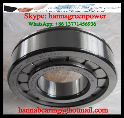 NUPK312 Cylindrical Roller Bearing 60x130x31mm
