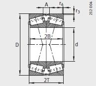 32960-N11CA-A650-700 bearing