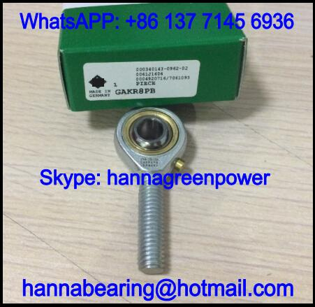 GAKR6PW Right Hand Rod End Bearing with External Thread 6x20x46mm