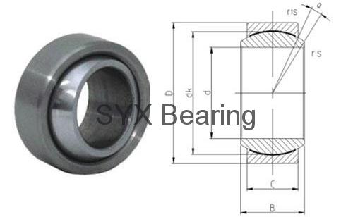 spherical plain bearing GEG17C