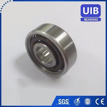 Ceramic bearing 6205 2RS, hybrid bearing 6205 2RS P6 grade ABEC-3 EMQ quality bearing