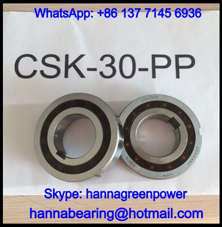 CSK30-M-C5 One Way Clutch Bearing / Sprag Freewheel Backstop 30*62*15mm