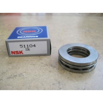 51104 Single Direction Thrust Ball Bearing