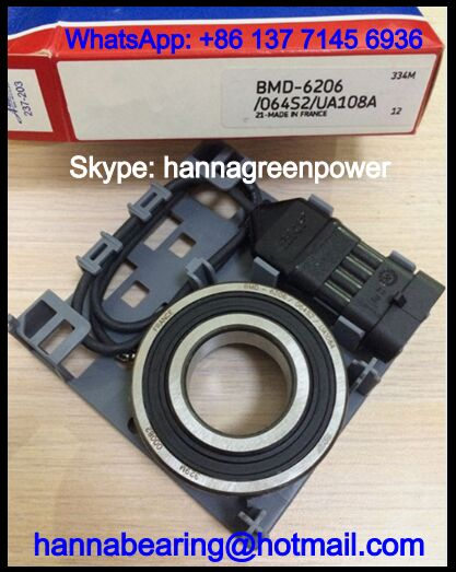 BMD-6206/064S2/UA108A Speed Sensor Bearing / Encoder Bearing 30*62*22.2mm