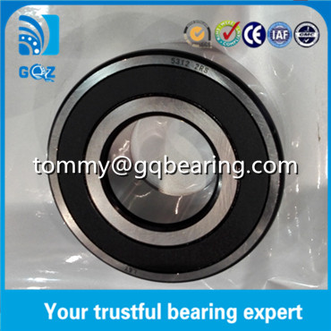 5312-2RS Double Row Angular Contact Ball Bearing ID 60 x OD 130 x W 54mm Sealed