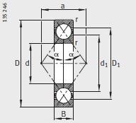 FAG QJ248-N2-MPA Bearings