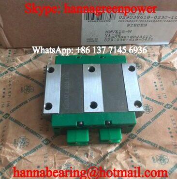 KWVE25-W Linear Guide Block 69x120x35mm