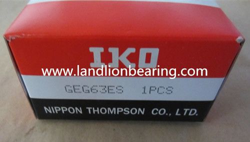 GEG32ES Radial spherical plain bearings 32*52*32mm